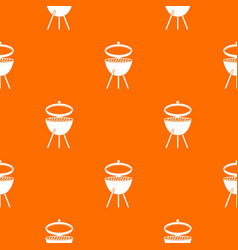 Barbecue pattern seamless vector