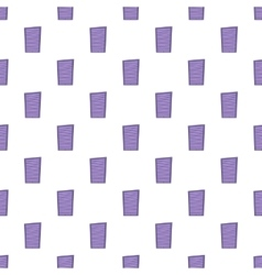 Blinds pattern cartoon style vector