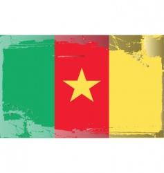 Cameroon national flag vector