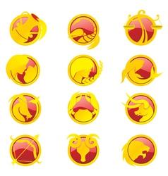 Zodiac set a vector