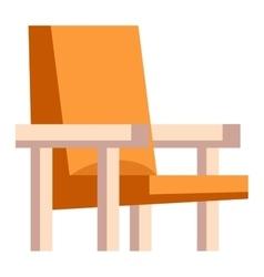 Armchair icon vector