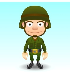 Soldier character vector