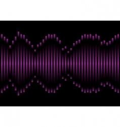 music equaliser vector image