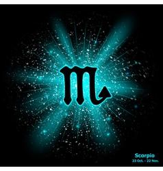 Scorpio luminous vector