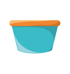 flower pot vector image
