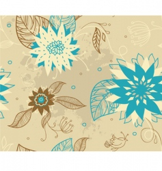 Pattern florals vector