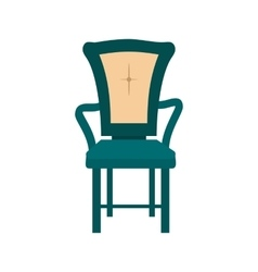 Bedroom chair vector