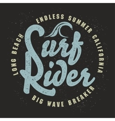 Surfing t-shirt graphic design vector