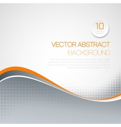 wavy technical background vector image vector image
