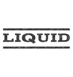 Liquid watermark stamp vector