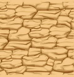 cracked pattern earth seamless texture desert vector image