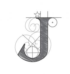j vector image