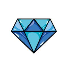 Beauty luxury diamond gen accessory vector
