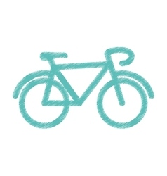 Bicycle cyclism sport vector image