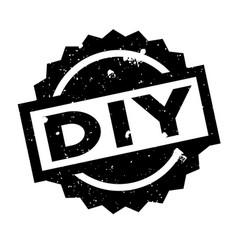 Diy rubber stamp vector