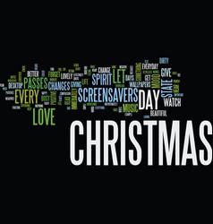 Enjoy christmas everyday with christmas vector