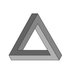 Penrose triangle geometric optical vector