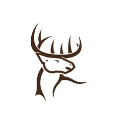 Deer-Head-380x400 vector image