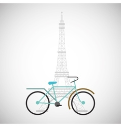 Graphic design of bike lifestyle vector