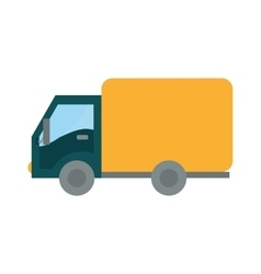 Transportation icon truck design graphic vector