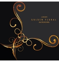 Luxury background design with light vibrant glow vector