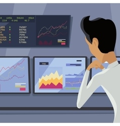 Modern Online Trading Technology vector image