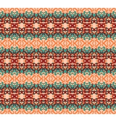 Retro pattern with swirls EPS 10 vector image