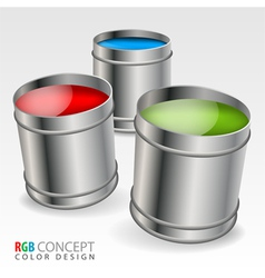 Color Concept vector image