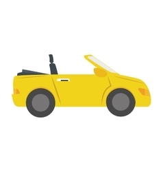 Car side sport auto vehicle icon graphic vector