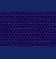 hexagonal grid cell vector image