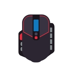 Control mouse pixel video game play icon vector