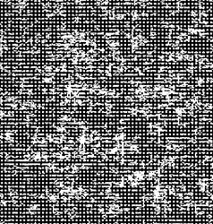 Seamles Grunge Pattern Halftone Background vector image
