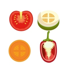 Healthy food graphic vector