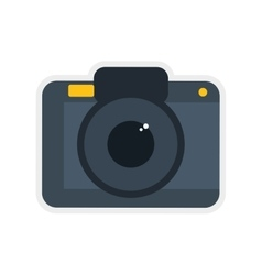 Camera icon gadget and technology design vector