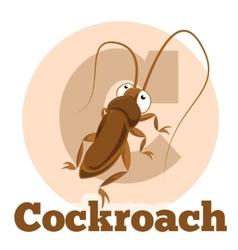 Abc cartoon cockroach2 vector