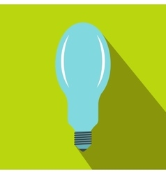 Bulb icon in flat style vector image vector image