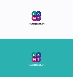 Name logo vector