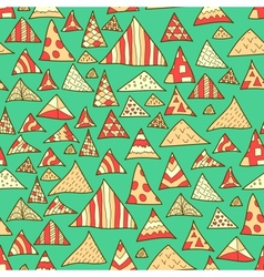 Seamless background colorful hipster pattern vector