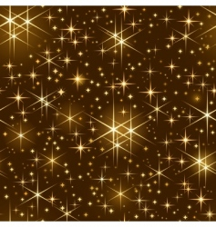 starry sky pattern vector image