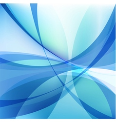Abstract light blue background with twist lines vector
