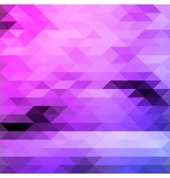 Bright triangles purple and blue colours abstract vector