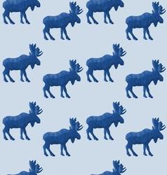 Abstract triangular moose vector