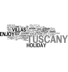 enjoy comfort and convenience with holiday villas vector image vector image