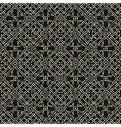 ethnic modern geometric seamless pattern ornament vector image vector image