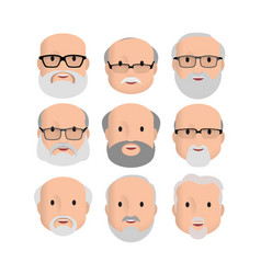 Men male human face vector