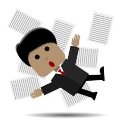 Panic vector image vector image
