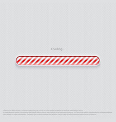 Loading web design red vector