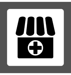 Drugstore icon vector