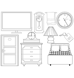 Objects of interior vector