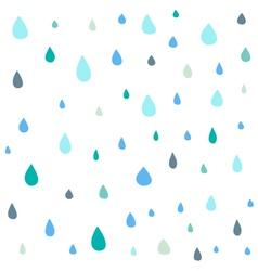 Cute drop seamless pattern vector